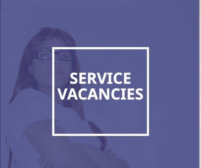 Service Vacancies